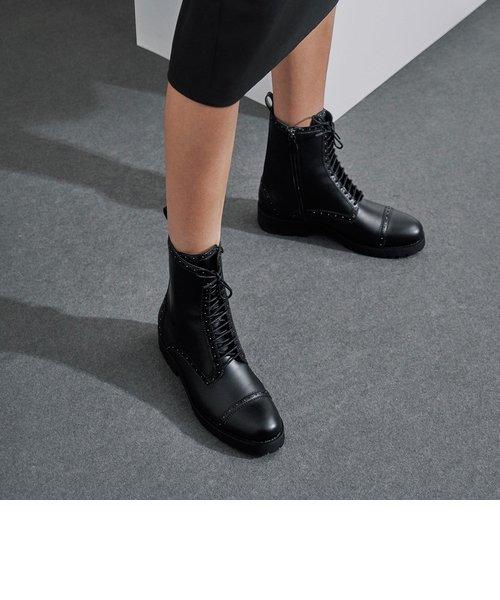 ブローグ アンクルブーツ / Brogue Ankle Boots