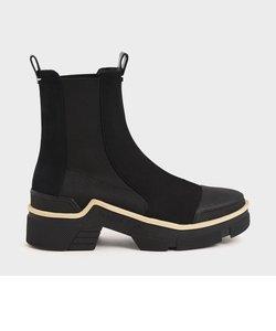 プルオン アンクルブーツ / Pull-On Ankle Boots