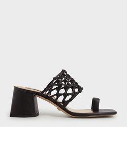 【2021 SPRING】ウーブントゥリング サンダル / Woven Toe Ring Sandals
