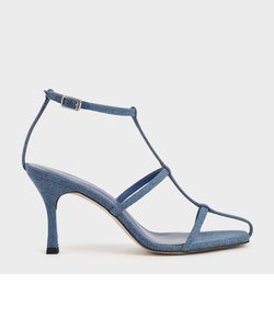 【2021 SPRING】ケイジド ストラッピーヒールサンダル / Caged Strappy Heeled Sandals