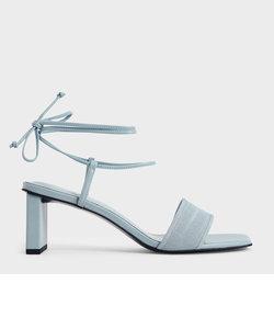 【2021 SUMMER】リネン タイアラウンドサンダル / Linen Tie-Around Sandals
