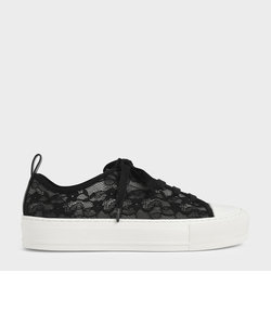 【2021 FALL 新作】レースロウトップ スニーカー / Lace Low-Top Sneakers