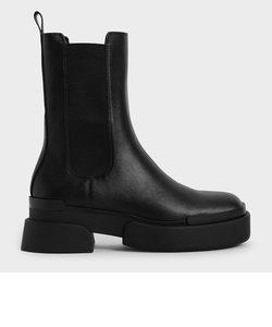 【2021 FALL 新作】プラットフォーム チェルシーブーツ / Platform Chelsea Boots