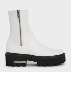 【2021 FALL 新作】サイドジップ アンクルブーツ / Side-Zip Ankle Boots
