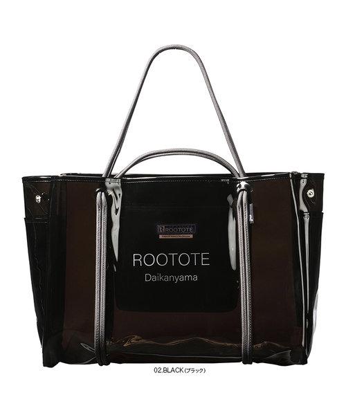 172802 ルートート(ROOTOTE)/ RT SY.LAGUNA-ROO(ラグーナルー) CLEAR-A(02:ブラック)