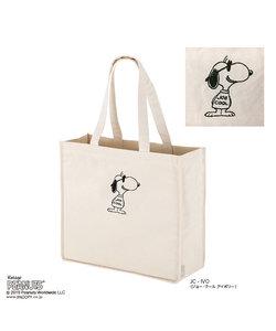 404903 ルートート(ROOTOTE)/ RT SN.グランデ キャンバス刺繍 ピーナッツ-4N(03:ジョー・クール アイボリー)