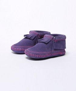 【MINNETONKA】ミネトンカ RILEY BOOTIE/フリンジ ソフトソール ブーツ