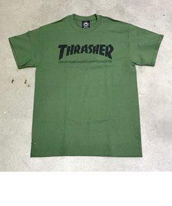 【THRASHER】 MAG LOGO T-SHIRTS (green)