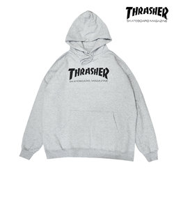 【THRASHER】MAG LOGO HOODIE(gray)