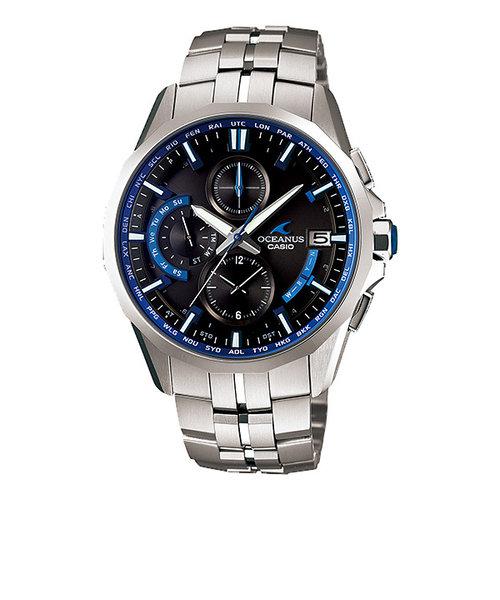 オシアナス OCEANUS カシオ CASIO 腕時計 メタル チタン サファイヤガラス 電波 ソーラー OCW-S3000-1AJF