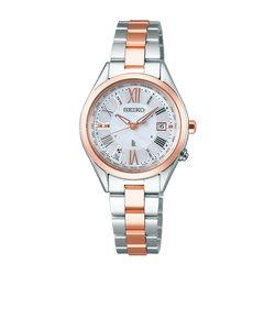 ルキア LUKIA セイコー SEIKO 腕時計 レディース 電波 ソーラー SSQV040