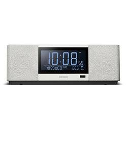 セイコークロック SEIKO 置時計 Bluetooth 音楽 スマホ ラジオ 夜光る デジタル SS501A