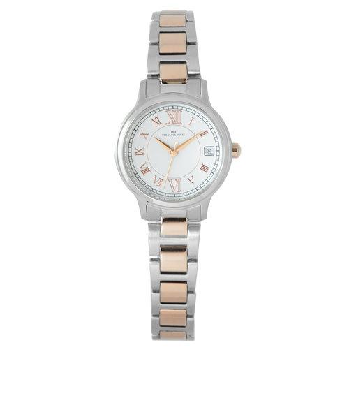 ザ・クロックハウス LBC5004-WH1A 腕時計 就活 入学 就職 ギフト プレゼント ビジネス カジュアル