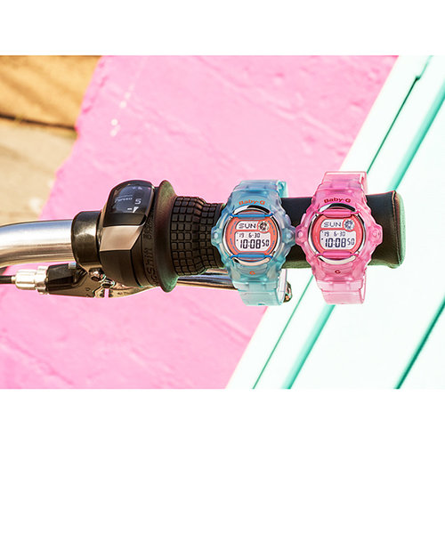 ベビーG スケルトン 腕時計 ベビージー レディス ウォッチ クリア ピンク BABY-G レディース 腕時計 20気圧防水 時計 レデイス ウォッチ BG-169R-4EJF