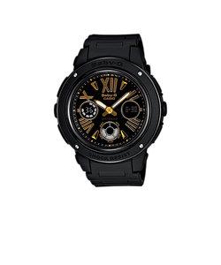 ベビーG 「BGA-150」シリーズ 腕時計 ベビージー レディス ウォッチ ブラック ゴールドカラー BABY-G レディース 腕時計 樹脂バンド 黒 時計 レデイス ウォッチ BGA-153-1BJF