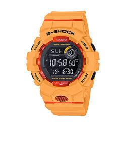 Gショック G-ショック メンズ 腕時計 G-SHOCK オレンジ スポーツライン 「G-SQUAD -SHOCK Connected」と連携 カシオ 腕時計 CASIO GBD-800-4JF