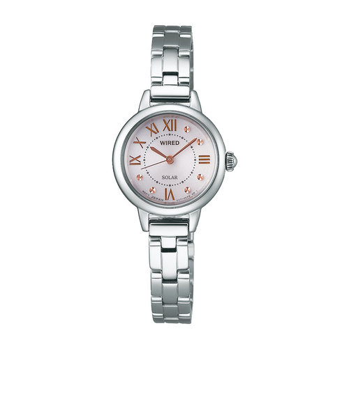 d38d37b8cd ワイアード エフ WIRED f 腕時計 レディース ピンク シルバー AGED094 ...