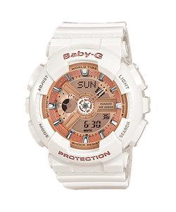 ベビーG BABY-G 腕時計 レディース 耐衝撃 防水 スポーツ BA-110-4A1JF