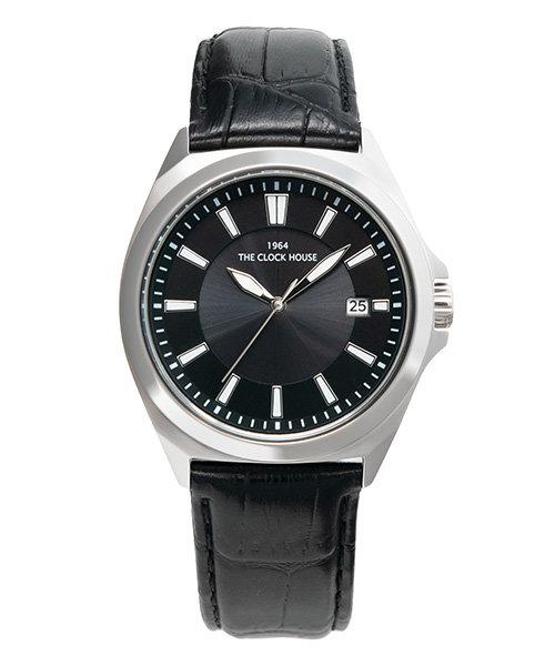 ザ・クロックハウス ソーラー MBC1004-BK1B 腕時計 就活 入学 就職 ギフト プレゼント ビジネス カジュアル