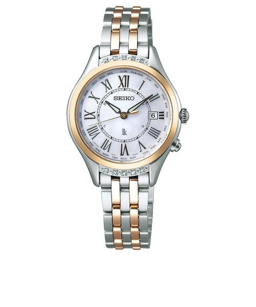 ルキア LUKIA セイコー SEIKO 腕時計 レディース 電波 ソーラー SSVV056