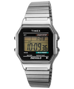 TIMEX タイメックス Classic Digital クラシックデジタル T78587 デジタル 電池式 メタルバンド シルバー