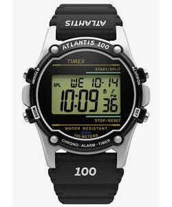 TIMEX タイメックス ATLANTIS アトランティス 100 TW2U31000 デジタル 電池式 レジン ブラック