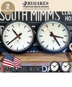 トラヴィスウォールクロック 掛時計 BIMAKES ビンテージブラック