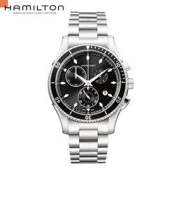ハミルトン ジャズマスター シービュー クロノ H37512131 メンズ腕時計 メタルバンド