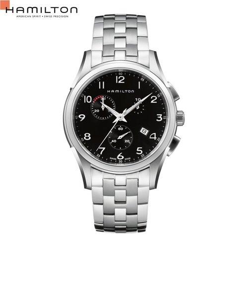 ハミルトン ハミルトン[Hamilton] ジャズマスター シンライン クロノ H38612133 メンズ腕時計