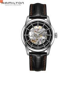 ハミルトン ハミルトン[Hamilton] アメリカンクラシック レイルロード スケルトン H40655731 メンズ腕時計