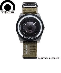 タックス[TACS] レンズシリーズ ナトーレンズ [NATO LENS] TS1503A カメラ 44mm ナイロン×レザー メンズ