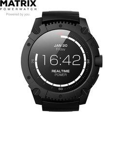 マトリックス パワーウォッチ エックス [Matrix Power Watch X] PW05JP 充電不要 スマートウォッチ 体温で発電 睡眠 活動量計 消費カロリー 歩数計