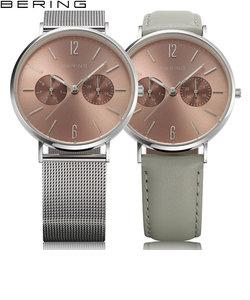 ベーリング [BERING] 14236-006 CHANGES Cherry Blossom 数量限定 北欧 交換ベルト付 レディース 腕時計 時計
