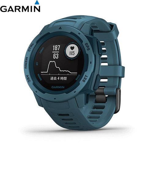 ガーミン [GARMIN] インスティンクト [Instinct Lakeside blue] 010-02064-52 GPS ナビ アウトドア スマートウォッチ 光学心拍計 ライフログ 筋トレ ラン