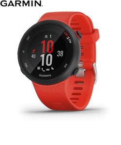 ガーミン [GARMIN] フォアアスリート45 [Foreathlete 45] 010-02156-46 ラバレッド GPS スマートウォッチ 軽量 ランニング 光学心拍計 ライフログ 保存 ウェアラブル 腕時計 時計
