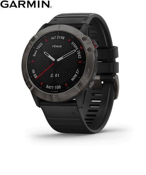 ガーミン [GARMIN] フェニックス6Xサファイア [Fenix 6X Sapphire] 010-02157-43 Black DLC GPS スマートウォッチ iphone android ランニング 光学心拍計 ライフログ 保存 腕時計