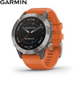 ガーミン [GARMIN] フェニックス6サファイア [Fenix 6 Sapphire] 010-02158-53 Ti Gray GPS スマートウォッチ iphone android ランニング 光学心拍計 ライフログ 保存 ウェアラブル 腕時計