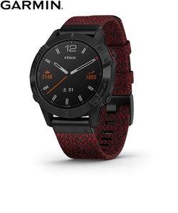 ガーミン [GARMIN] フェニックス6サファイア [Fenix 6 Sapphire] 010-02158-63 DLC Nylon GPS スマートウォッチ iphone android ランニング 光学心拍計 ライフログ 保存 ウェアラブル 腕時計