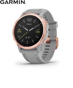 ガーミン [GARMIN] フェニックス6Sサファイア [Fenix 6S Sapphire] 010-02159-73 Gray RoseGold GPS スマートウォッチ iphone android ランニング 光学心拍計 ライフログ 保存 腕時計