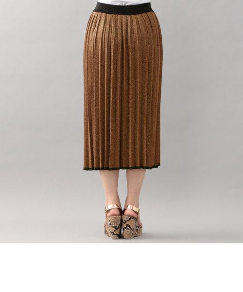 【LOVELESS】WOMENS ラメプリーツスカート