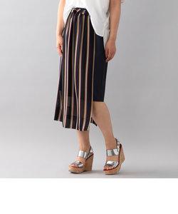【店舗限定】【GUILD PRIME】2WAYストライプスカート