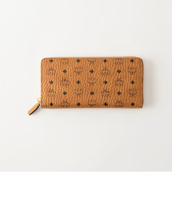 【MCM】ラウンドジップ長財布 -VISETOS ORIGINAL ZIPPED WALLET LARGE- MXL8SVI92