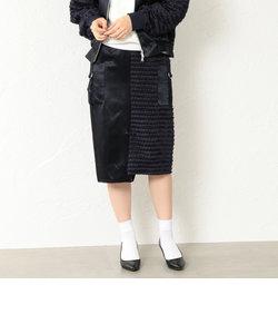 【LOVELESS】WOMEN スプリットフリンジタイトスカート