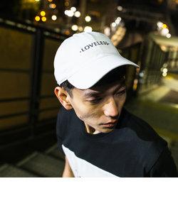 【LOVELESS】MEN ポリクレストロゴ キャップ