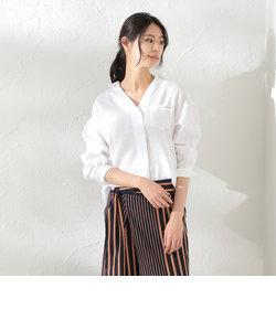 【LOVELESS】WOMEN カラーランリネンシャツ