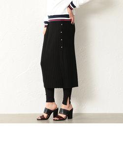 【LOVELESS】WOMEN レギンス付きニットスカート