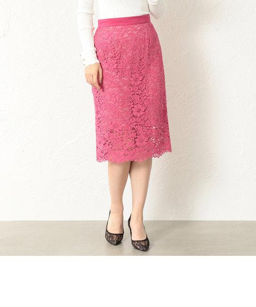 【LOVELESS】WOMEN レースタイトロングスカート
