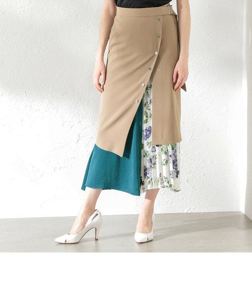 【LOVELESS】WOMEN 2in1レイヤードスカート