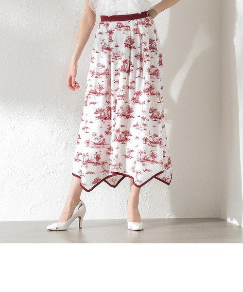 【LOVELESS】WOMEN Toile du Jouy マキシスカート