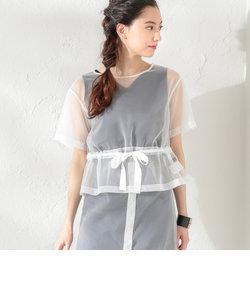 【LOVELESS】WOMEN シアーセットアップブラウス
